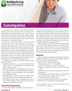 Constipation PDF