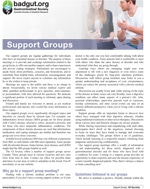 Support Groups PDF