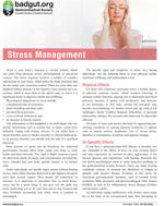 Stress Management PDF